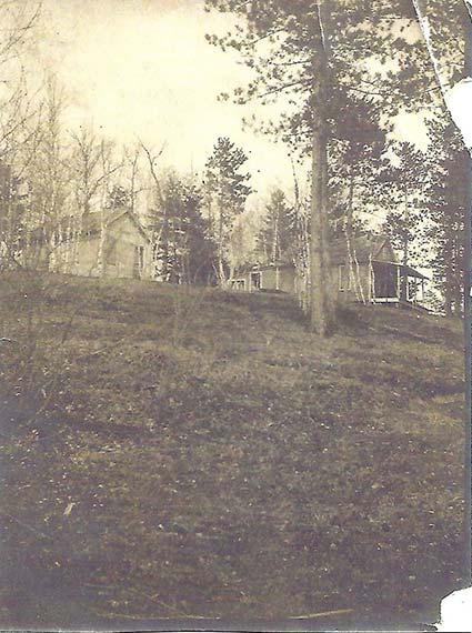 Early Bear Lake Cabin